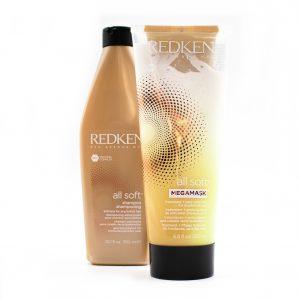Pack Cheveux secs All Soft – Redken